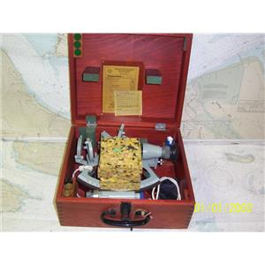 Boaters' Resale Shop of TX 1904 0275.01 FREIBERGER DRUM SEXTANT KIT IN CASE