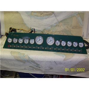 Boaters' Resale Shop of TX 1904 0755.02 STRIKE YACHTS INSTRUMNET PANEL ASSEMBLY