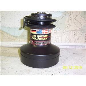 Boaters' Resale Shop of TX 1904 0447.52 LEWMAR 40 TWO SPEED BLACK ALUMINUM WINCH