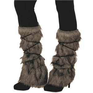 Viking Leg Guard Gray Game of Thrones Leg Warmers Costume Accessories