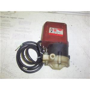 Boaters' Resale Shop of TX 1904 5124.01 MARCH MODEL LC-3MP-MD 115 VOLT AC PUMP