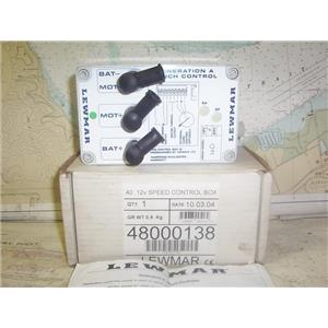 Boaters' Resale Shop of TX 1905 0742.12 LEWMAR 48000138 GEN A WINCH CONTROLLER