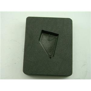 Small Nevada Gold Bar 2 oz Graphite Mold Silver 1 oz