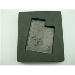 Custom Utah Gold Bar 10 oz Graphite Mold Silver 6 oz