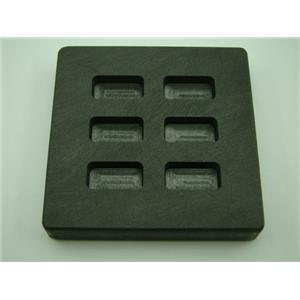 1/4 oz x 6 High Density Graphite Mold 1/4oz Gold Bar 1/8 oz Silver 6-Cavities