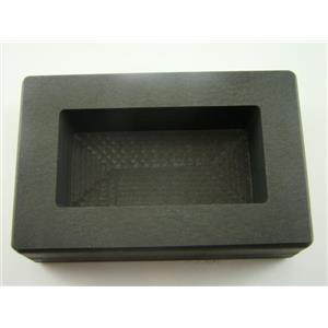 1/2 Kilo Gold Graphite Ingot Mold Silver-Copper-Bar Loaf Style 500 Grams