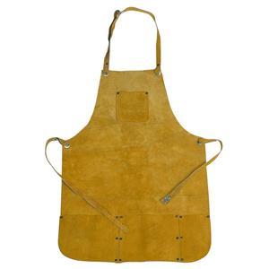 "Leather Apron 22"" X 32"" - 4 Pockets - Welding,Melting,Gold,Silver,Smelting"