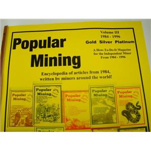 Popular Mining-Encyclopedia of Articles#3-Plans-DIY-Gold Prospecting History(H33