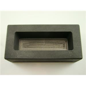 1 Kilo Gold KitKat Bar Mold 1000 Grams High Density Graphite Loaf Scrap