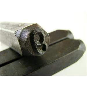"""3/8"""" Number """"9""""&""""6"""" Stamp-Punch-Hand-Tool-Gold Bar-Silver-Trailer-Metal-Leather"""