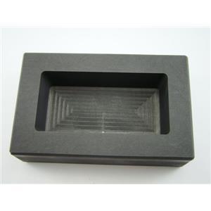 50 oz Gold  25 oz Silver High Density Graphite Mold Bar Loaf Scrap Copper
