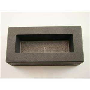 25 oz Gold KitKat Bar Mold 15 oz Silver High Density Graphite Loaf Scrap (B7)