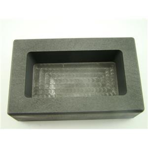 500 Gram Silver Bar High Density Graphite Ingot Mold Loaf Style 1/2 Kilo