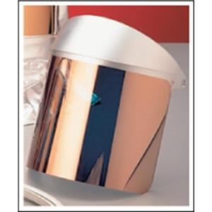 OBERON Gold Heat Reflective Face Shield-Furnace-Melting-Safety-Kiln-USA Made