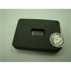 1/4 oz Gold 1/8 oz Silver Bar High Density Graphite Ingot Mold  Loaf