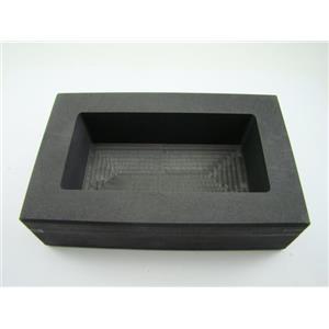 100 oz Gold Bar High Density Graphite Mold - Loaf  60 oz Silver & Copper