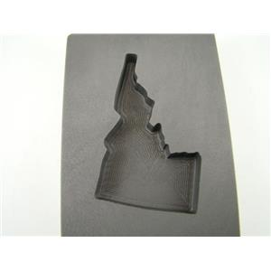 Custom Made Idaho 5 oz Gold Bar 3 oz Silver High Density Graphite Mold