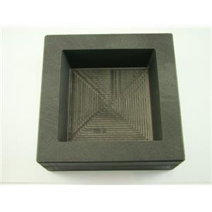 50 oz Gold 25 oz Silver Bar High Density Graphite Square Slab Mold Copper (B103)