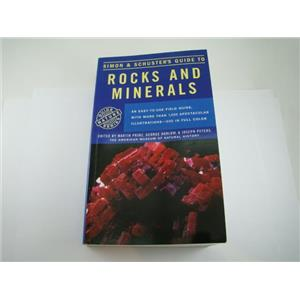 Simon & Schuster's Guide to Rocks and Minerals Book Rockhound Gems 607 Pgs