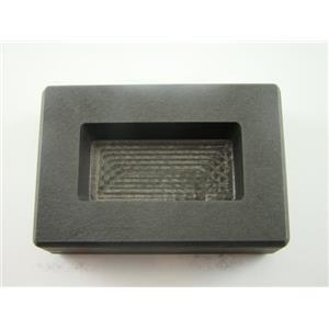 200 Gram Gold Bar High Density Graphite Mold Loaf Copper-100 Gram Silver Bar