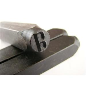 """1/4"""" Letter """"B"""" Stamp-Punch-Hand-Tool-Gold Bar-Silver-Trailer-Metal-Leather"""