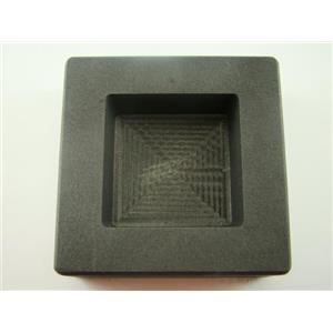 10 oz Gold 6oz Silver Bar High Density Graphite Square Slab Mold Loaf Copper