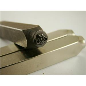 """""""Puppy Dog Face"""" 1/4""""-6mm-Large Stamp-Metal-Hardened Steel-Gold&Silver Bars"""