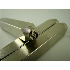 """""""Love Heart"""" 1/4""""-6mm-Large Stamp-Metal-Hardened Steel-Gold&Silver Bars"""