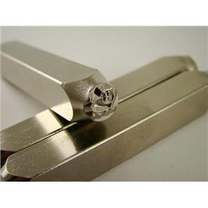 """""""Oinky Pig Porker""""1/4""""-6mm-Large Stamp-Metal-Hardened Steel-Gold&Silver Bars"""