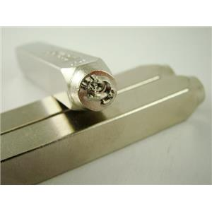 """""""Squeak Mouse"""" 1/4""""-6mm-Large Stamp-Metal-Hardened Steel-Gold&Silver Bars"""