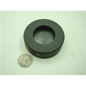 2 oz Round Gold Bar High Density Graphite Mold - 1 oz Silver Bar