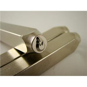 """""""Fire-Flames"""" 1/4""""-6mm-Large Stamp-Metal-Hardened Steel-Gold&Silver Bars"""