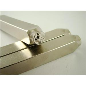 """Celtic Cross"" 1/4""-6mm-Large Stamp-Metal-Hardened Steel-Gold&Silver Bars"
