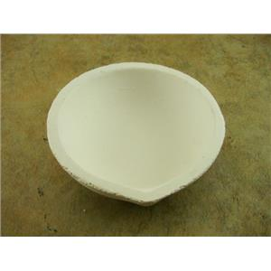 """Large Crucible Silica Dish 3-1/2"""" OD-13/16"""" Deep -Gold-Melting-Silver-Copper"""