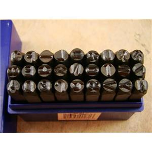 "3/16""  5MM Letter Punch Stamp Set  Metal-Steel-Hand A-Z Serial-Bars-Trailer"