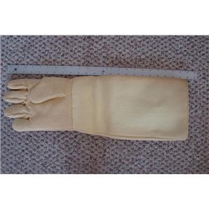 "Professional Kevlar Heat Glove-Furnace Kiln Fire 22"" Right Hand Gold Melt Safety"