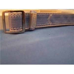 Casio Watch Band BG-26. 20mm Denim blue/Silver NylonGrip