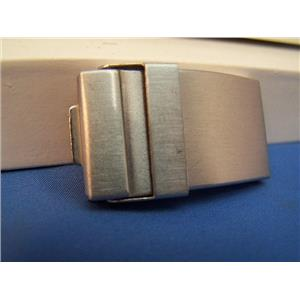 Watch Bracelet TriFold buckle. 18mm End Link Attach and 10mm Center Link Attach