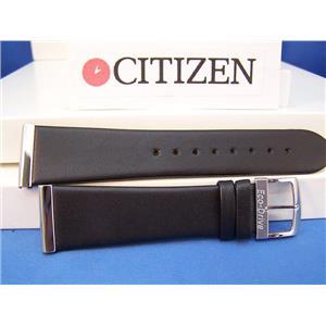 Citizen Watch Band Eco-Drive Mod# BL6005-01E Black Leather back plt#B023-S011868