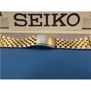 Seiko WatchBand SDA326 SGF422 Two Tone Bracelet 20mm