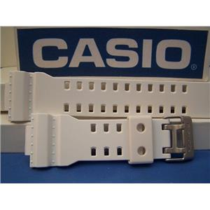 Casio Watch Band GA-110 C-7 White Resin Casio G-Shock Strap