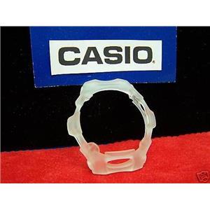 Casio Watch Parts Bg-154 Bezel. Semi See-Through White