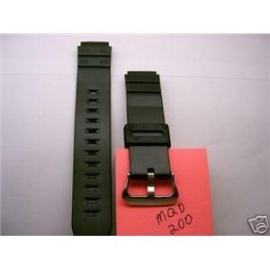 Casio watch band MQD-200 Original Casio Strap for discontinued model: MQD-200