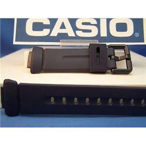 Casio watch band for BG-141 and BG-152. Dark blue Resin Baby-G Strap. Watchband
