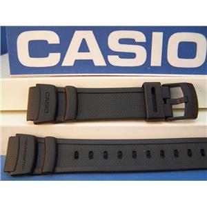 Casio watch band W-93 Illuminator Textured Rub Sport Band Fits Most 18mm Watches