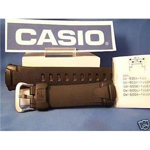 Casio watch band GW-500, GW-530, GW-M500, GW-M530. G-Shock black Rubber Strap