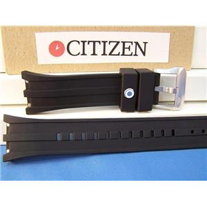 Citizen Watch Band BJ2135,BJ2145 Bk# 4-S065551F Blk Resin Strap Promaster Divers