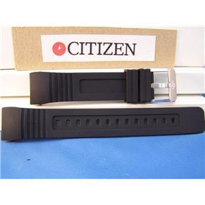 Citizen Watch Band BJ2120 Integrated Fit Black Rubber Strap Eco Drive Promaster