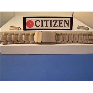 Citizen Watch Band JP1030 Duplex Titanium Bracelet 20mm w/ P But Length Extender