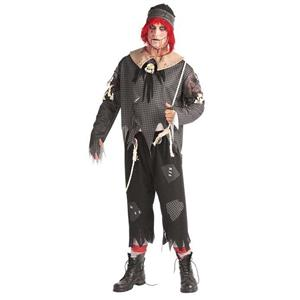 Unhappily Ever After: Gothic Ragdoll Boy Adult Costume XL